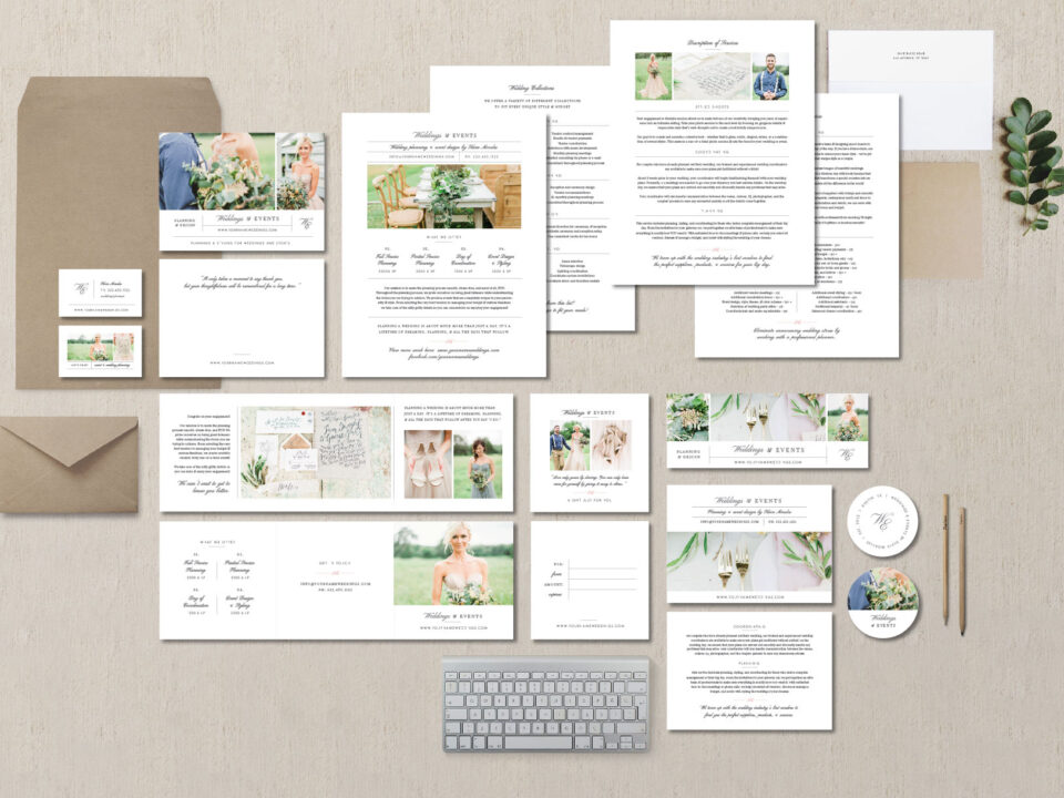 Wedding Brand Kit Design