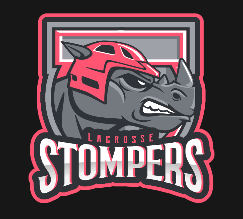 Logo for Lacrosse Sports Team