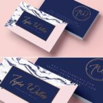 Business card brand kit