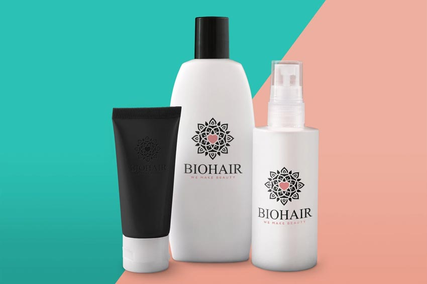 Hair Product Mock up