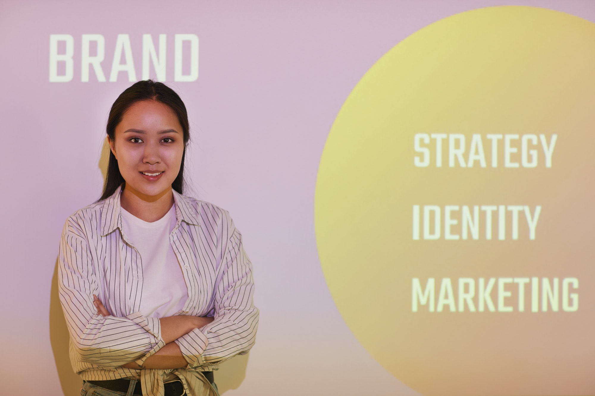 Presentation of brand manager