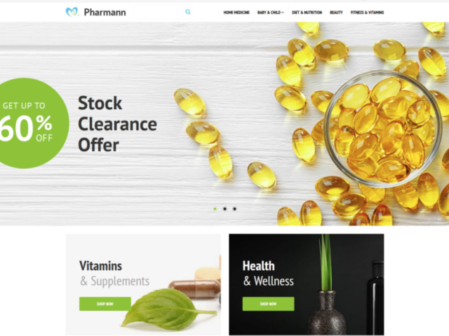 Website for local Pharmacy business