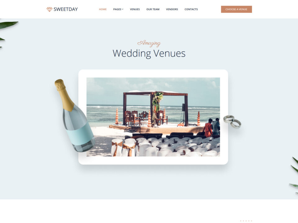Website for Wedding Venues Business